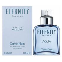 Perfume Eternity Aqua Calvin Klein Masculino Edt 100ml 12x