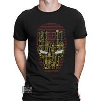 Camisa, Camiseta Homem De Ferro Iron Man Vingadores Stark