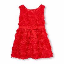 Vestido Childrens Place Rojo Niña Talla 3t Ropa Importada