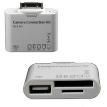 5 In1 Camera Connection Kit Cartão Micro Sd Ipad Usb Iphone