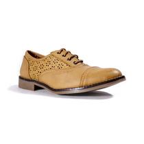 Trender Zapato Tipo Bostoniano Color Miel