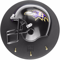 Casco Nfl Porta Llaves Cuervos De Baltimore Football Nfl26