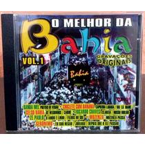 Cd O Melhor Da Bahia Vol.1 - Banda Mel Chiclete Com Banana