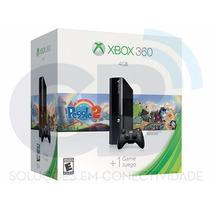 Xbox 360 - 4g - Novo - Ultimas Unidades!!!12x Sem Juros!