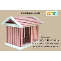 Casinha Madeira Para Cães, Gatos E Coelhos Grande