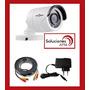Kit 1 Camara Sudvision Metal Exterior + Cable 20m + Fuente
