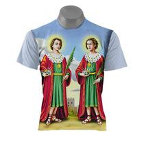 Camiseta Católica - Cosme Damião