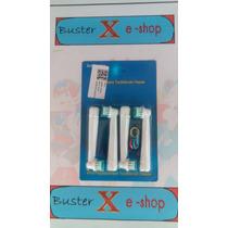 Refil Recarga Oral B Braun Escova Dente Eletrica Novo 4 Unid
