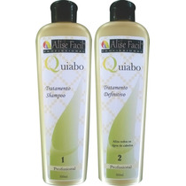 Kit Progressiva Definitiva De Quiabo Alise Fácil 500ml
