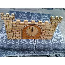 Reloj Artesanal En Cedro Tallados A Mano Diseños Únicos