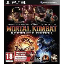 Mortal Kombat 9 Komplete Edition Ps3 Play3 Midia Digital Psn
