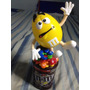Vaso Dispensador De Caramelo M&m Decorativo