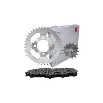 Kit Relação Transmissão Scud Fazer250 Corrente Kmc Retentor