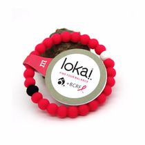 Lokai Rosa Breast Cancer Pink Hero Nueva Original