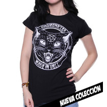 Blusa Marca King Monster Mod: Un Luky Cat