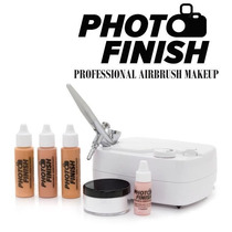 Sistema Maquillaje Aerografo Kit Piel Estetica Spa