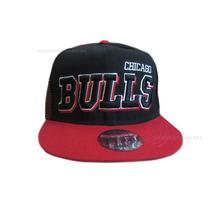 Gorras Snapbacks Visera Plana - Chicago Bulls