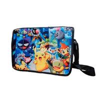 Mochila Escolar De Portafolio Pokemon Pikachu Pokebola
