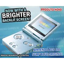 N O V O Game Boy Advance Sp Brighter Ags 101 12x Sem Juros