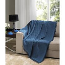 Manta Para Sofá Dohler London Azul, 160 X 220 Cm