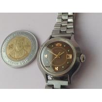 Reloj Orient Automatico. Dama. Café. 70