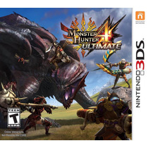 Monster Hunter 4 Ultimate - Nintendo 3ds, 2ds, New 3ds Xl