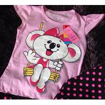 Blusa Camiseta Baby Look Lilica Ripilica