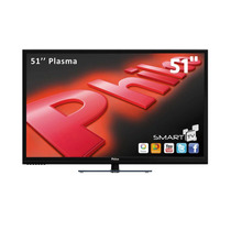Smart Tv Plasma 51 Philco Hd, Wi-fi, Hdmi, Usb - Ph51u20psgw