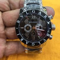 Relógio Bulgari Iron Man Bateria Produto Original U