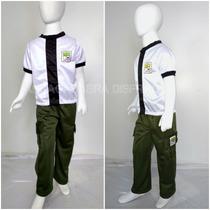 Disfraz Tipo Ben 10 Playera Y Pantalon Alien Force Ben 10