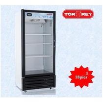 Refrigerador De Exhibición 18 Pies Cúbicos Vrd-18