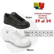 Zapatos Colegiales Deportivos Vita Kids