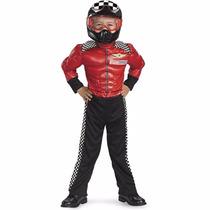 Disfraz Corredor Piloto Carreras Carro Niño 4 A 6 Años