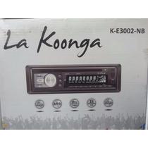 Radio Reproductor La Koonga Mp3 Usb Cd
