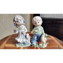 Niños Preciosos Momentos, Figuras De Porcelana Fina Española