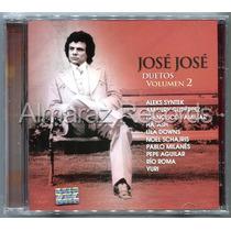 Jose Jose Duetos Volumen 2 Cd - Rio Roma Yuri Lila Downs