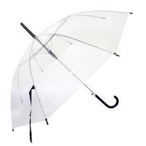 Paraguas Vinilico Largo Grande Tansparente Oferta Por Mayor