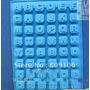 Pedido:molde De Silicona 48 Letras Alfabeto Tortas Jabones