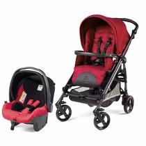 Carrinho Peg Pérego Pliko P3 Compact Marte + Bebê Conforto