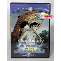 Studio Ghibli La Tumba De Las Luciérnagas Dvd Región 1 Y 4