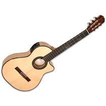 La Alpujarra Mod. 86 Kec Guitarra Electrocriolla C/funda