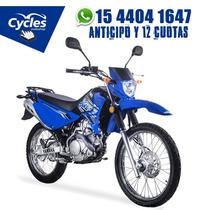 Nueva Yamaha Xtz 125 Anticipo Y 12 Cuotas Fijas !!