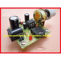 Kit Para Montar Amplificador Áudio Com Lm386 Fácil Montagem