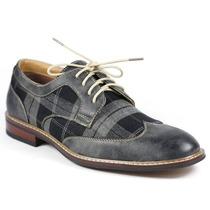 Zapatos Oxford Bostoniano Italiano Formal Elegante Casual