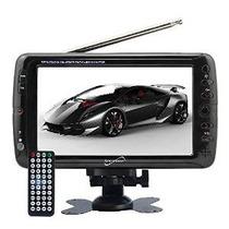 Supersonic 7-pulgadas Lcd Tv Digital Portátil Ac / Dc (sc-19