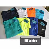 Franelas Deportivas Nike Para Caballeros