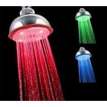Regaderas Led, Sensor De Temperatura Con Luz Led Para Baños