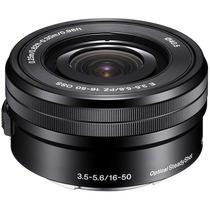 Sony 16-50mm F/3.5-5.6 Alpha Oss E-mount Lente - Perfeito!!