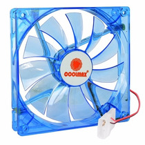 Fan Cooler Led Ventilador Extractor 12cm 4 Pines Coolmax
