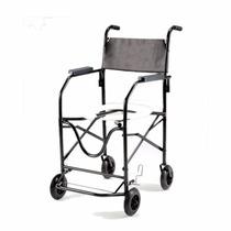 Cadeira De Rodas Banho Higiênica Idoso, Geriátrica Dobrável
